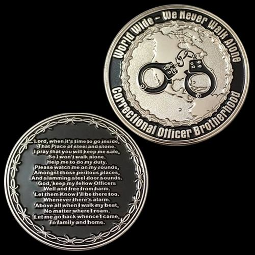 Correctional Officer Brotherhood (COB) Challenge Coin - (100 PC)